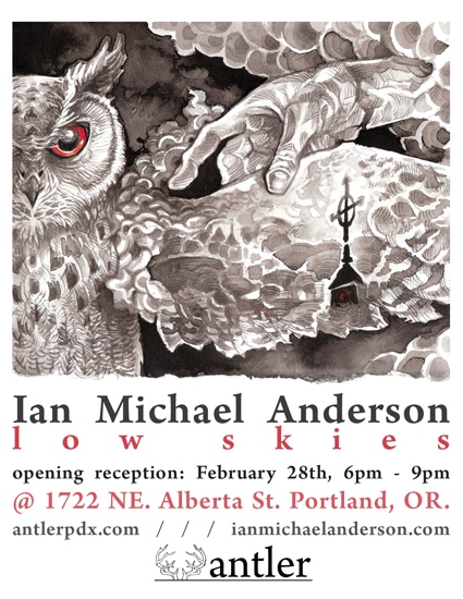 Antler Gallery Postcard