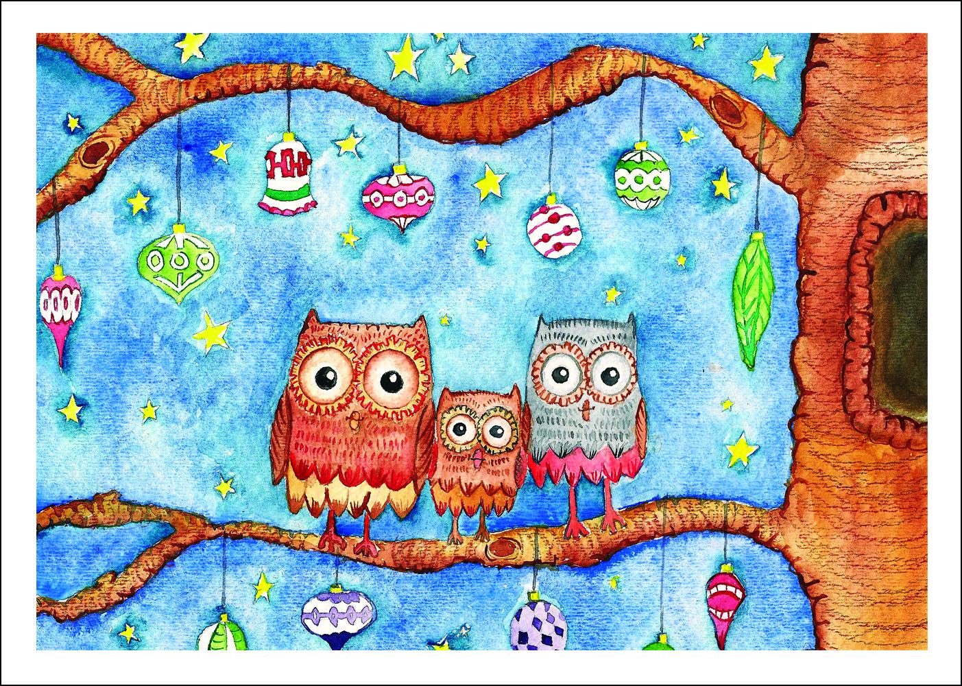 Criss Rueda owls