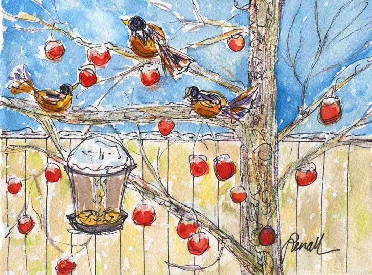 Lenall Those Greedy Fat Birds, I