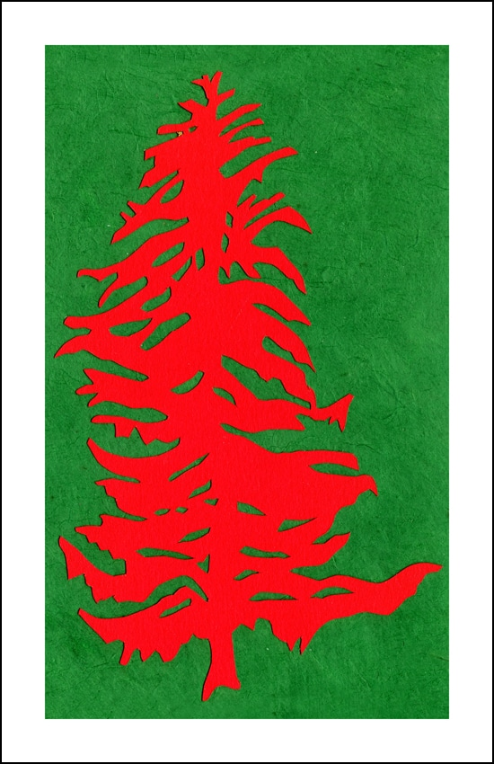 Marcie Notar Red Tree