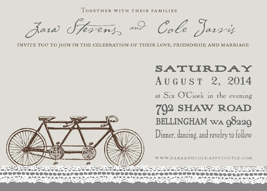 Cole Jarvis Invitation