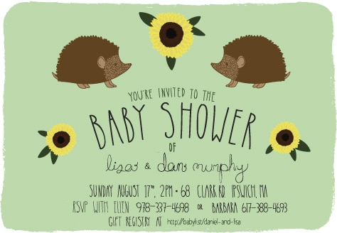 lisa baby shower invites final