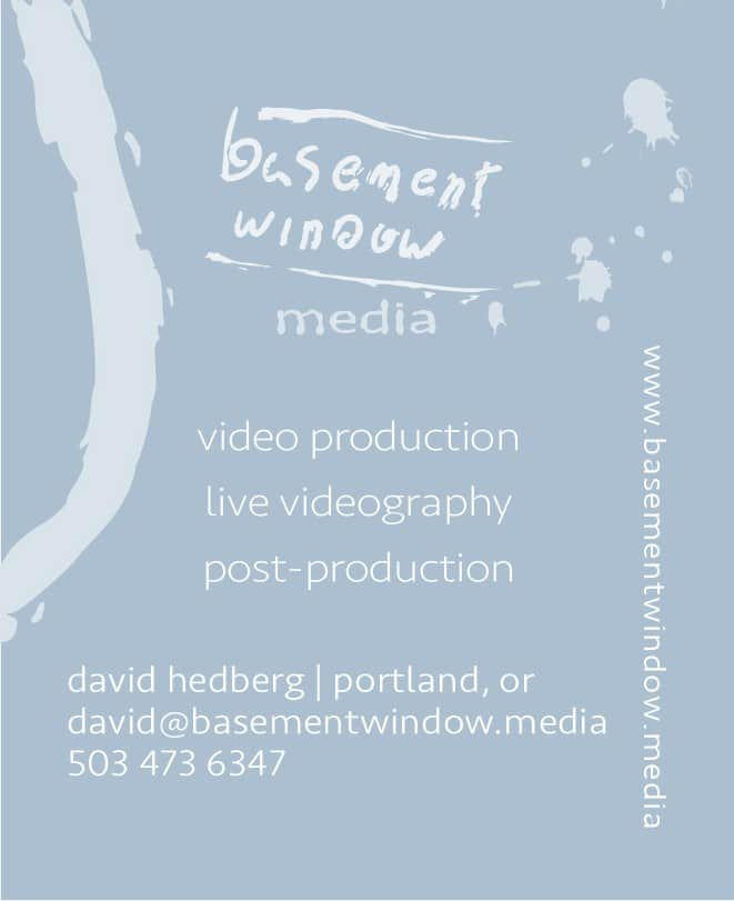 Basement Window Logo Business card