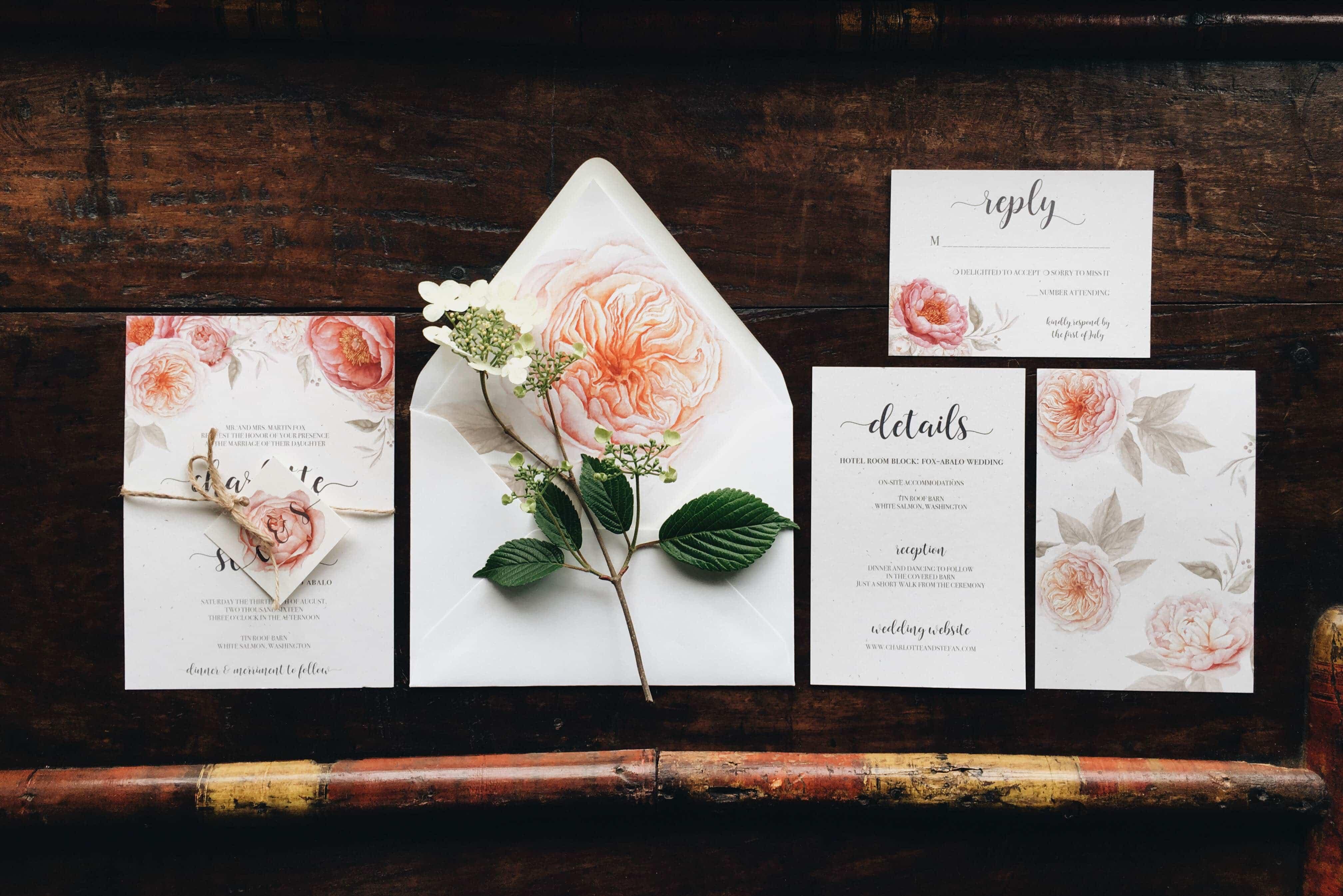 Wedding Invitations Portland Oregon: Worthy Prints - April 2016