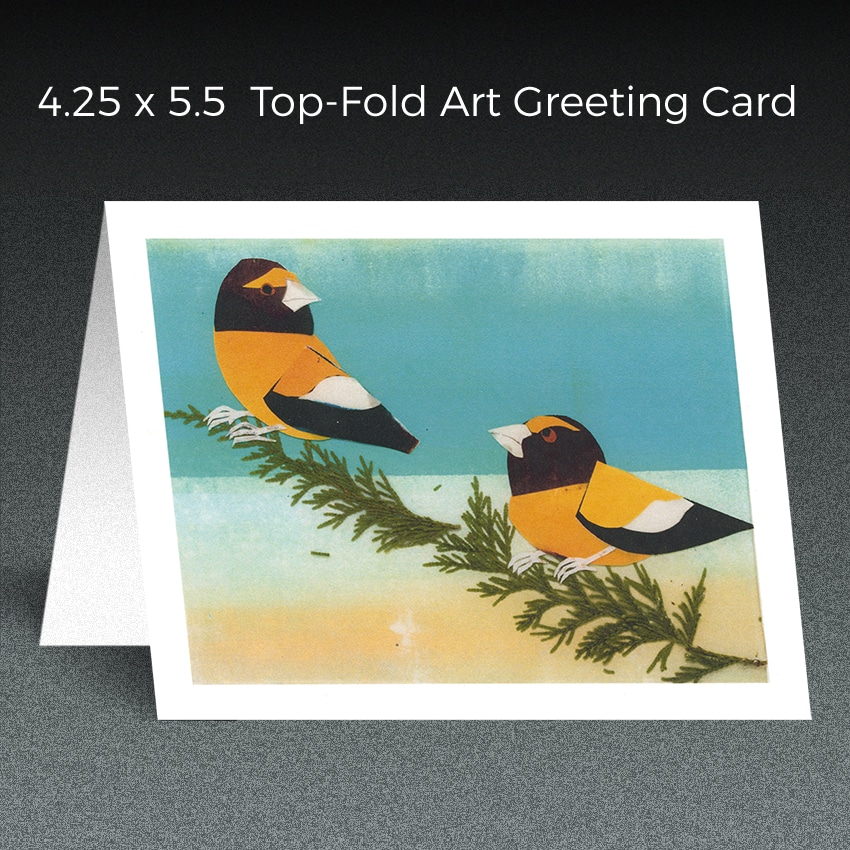 art greeting card printing