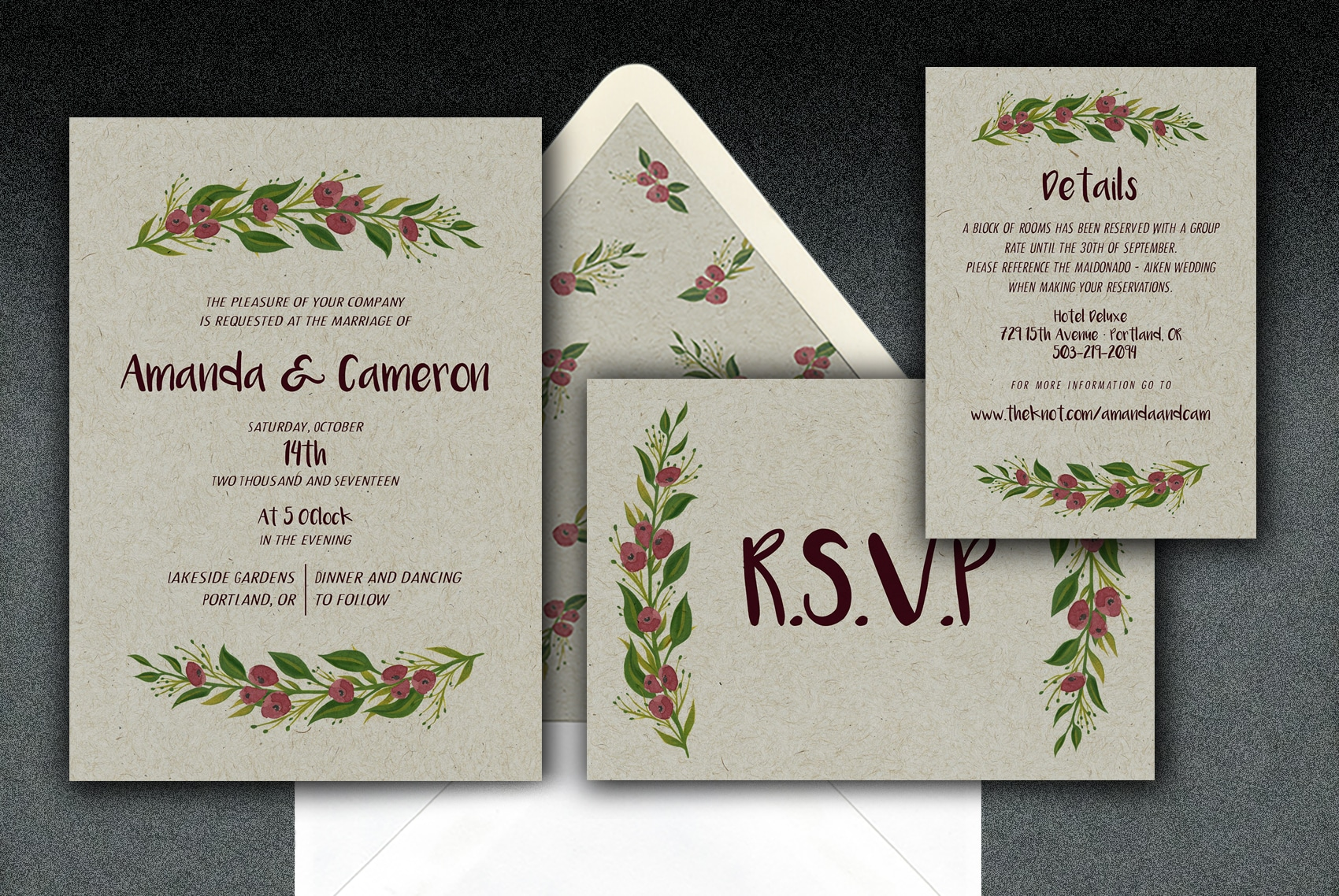 NEW! 100% recycled chipboard kraft creates a warm background for showcasing this festive motif